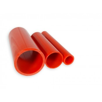 RED PVC pipe  per meter Ø 25 mm standard  ( email for freight cost ) ( will only suit metric plumbing )